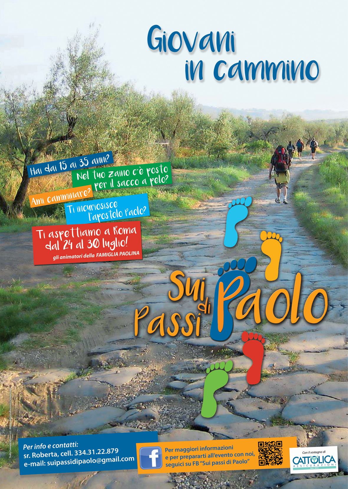 Giovani in cammino… sui passi di Paolo